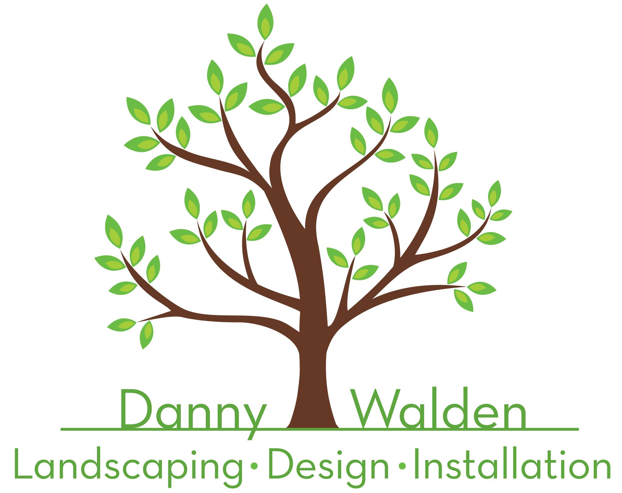 Danny Walden Landscaping Logo