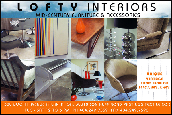 lofty interiors postcard